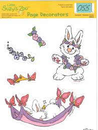 suzy u0027s zoo page decorators scrapbooking choice diecuts easter