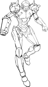 metroid coloring pages metroid teen computer graphic about