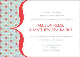 wedding program sles informal wedding invitation