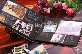 handmade photo album 10 inch diy photo album 30 pages black card diy handmade fairy