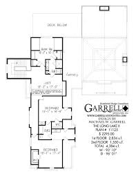 long lake ii house plan covered porch plans
