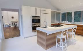 Most Beautiful Kitchen Designs Clean Kitchen Design With Bar Stools And Modern Kitchen Islands