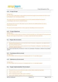 8 sample project plan template word project management course