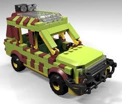 jurassic park jeep instructions constructibles jurassic jeep parts instructions kit