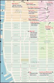 Midtown Manhattan Map Popspots New York City Music Popspots