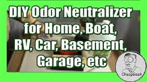 diy odor neutralizer for home boat rv car basement garage