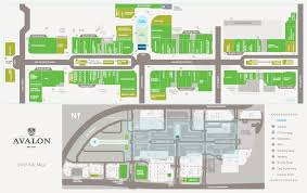 Shopping Mall Floor Plan Pdf by Experience Avalon Map
