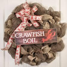crawfish decorations 15 wooden sign crawfish boil ap804604 mardigrasoutlet