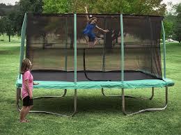large rectangle trampoline large rectangular trampoline trampoline