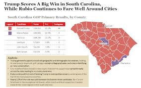 Primary Map South Carolina Gop Primary Voting Map