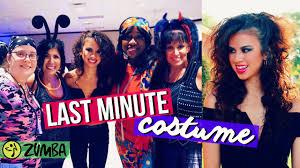 last minute halloween party ideas last minute halloween costume idea zumba party youtube