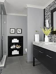 Gray And White Bathroom - the best things you can do to your bathroom for under 100