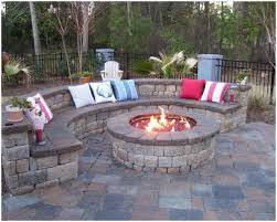 backyards outstanding outdoor fire pit patio designs home