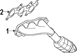 lexus gs300 parts diagram parts com lexus gs300 exhaust components oem parts