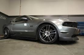 Mustang Black Chrome Wheels American Muscle Mickey Thompson And Wild E Pick Our Wheels