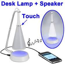le de bureau tactile capteur tactile usb led le de bureau avec mini haut parleur