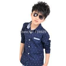 boys shirts autumn new style children clothing sleeve