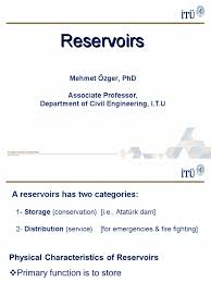 02lecture reservoirs ppt reservoir sediment