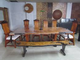 dining table for 10 made from narra and kamagong wood new dining