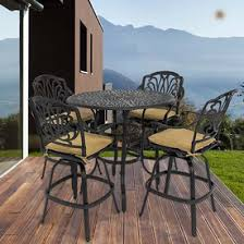 Bar Height Patio Chairs by Bar Height Patio Furniture Family Leisure
