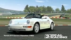 porsche car 911 porsche 911 carrera 2 speedster 1993 real racing 3 wiki
