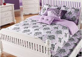 Shop For A Paige LilacBlack Twin Bed Set At Rooms To Go Kids - Rooms to go kids rooms