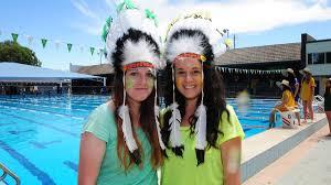gallery seniors u0027 swimming carnival daily liberal