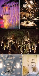 wedding trends hanging wedding decor hanging lights wedding