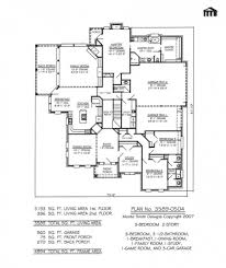 amazing 3 story house plan and elevation 3521 sq ft storey plans