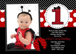 Birthday Invitation Cards For Kids First Birthday Free Ladybug Birthday Invitations Templates Free Invitations Ideas