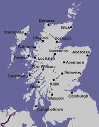 Map Scotland Map Scotland