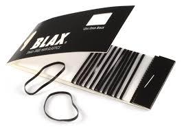 blax hair elastics blax snag free 2mm black smoothiesstore