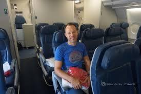 Delta Economy Comfort Review Trip Report Delta A330 Economy Class Barcelona To New York Jfk