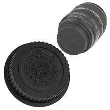 cap designer fotodiox designer black rear lens cap for all canon eos lenses