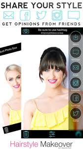 hairstyles application download hairstyle makeover on the app store