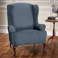 Small Club Chair Slipcover Shop Chair Covers And Sofa Covers Slipcovers You U0027ll Love Wayfair
