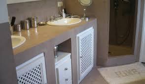 si e de bain pour b loft beton cir leroy merlin avec