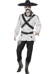 mexican bandit ghost fancy dress costume halloween ghost