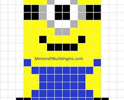 minecraft building templates despicable me minion template minecraft building inc minion