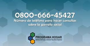 pago programa hogar marzo 2016 número de teléfono para consultas sobre garrafa social del programa
