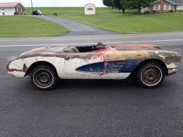 corvette project for sale 1958 chevrolet corvette project for sale photos technical