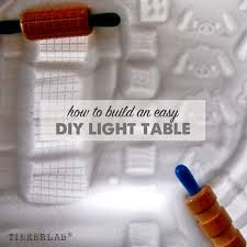 how to build an easy table how to build an easy diy light table