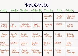 diet planner template 31 days of dinners a menu plan for the whole month the chirping 31 days of dinners a menu plan for the whole month the chirping moms