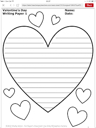 free writing paper for kindergarten printable stationery for