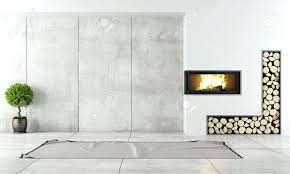 minimalist fireplace decoration minimalist fireplace