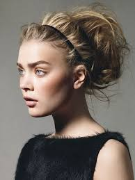 elastic hair band hairstyles leather orchid headband hairstyles