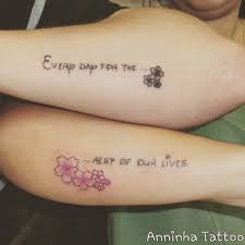 quote in disney lettering matching disney tattoos