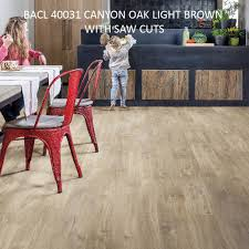 Saw For Cutting Laminate Flooring Bacl 40031 Canyon Oak Light Brown With Saw Cuts Floor Xpert