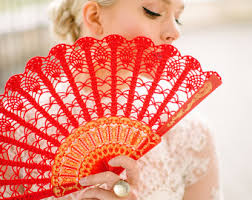 held fan lace fan held fan gift for gift 50 black