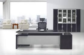 long black computer desk pict donchilei com